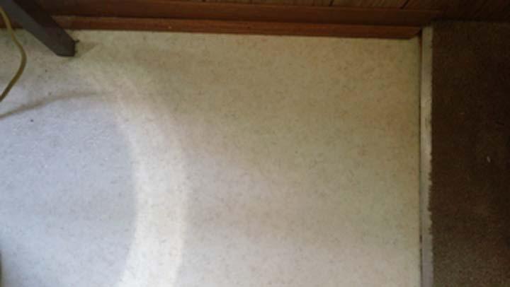 horrible kitchen floor