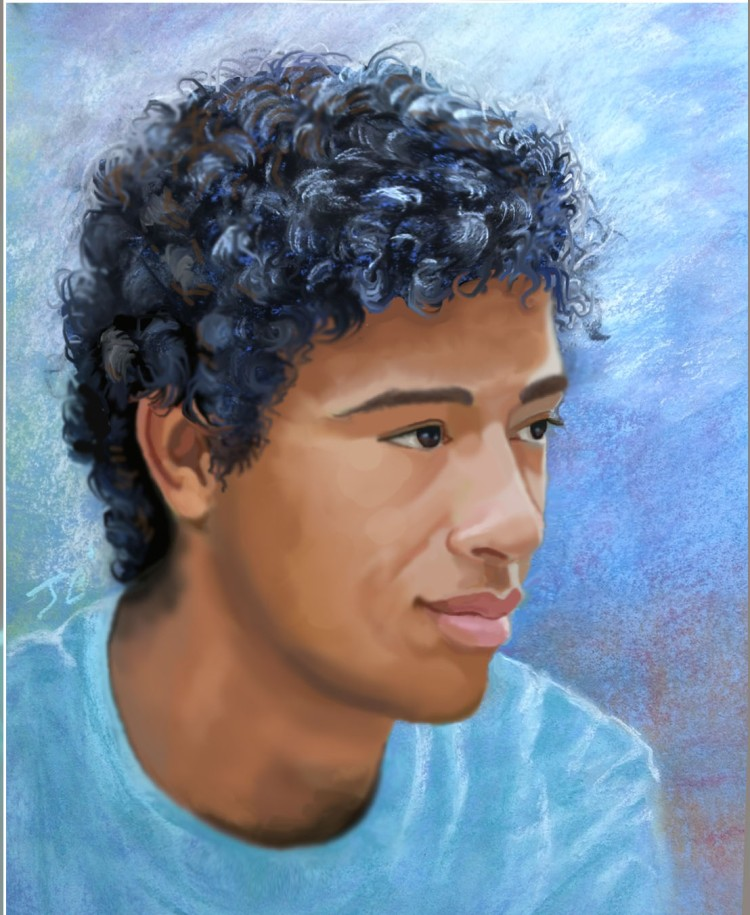 Pastel tweak portrait