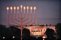 Menorah at White House