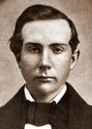 The genetically superior John D Rockefeller as a young man.