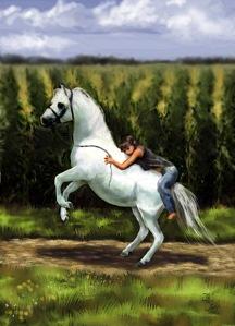 """Hiyo Silver"" painting by Je' Czaja"