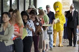 Big Bird Votes