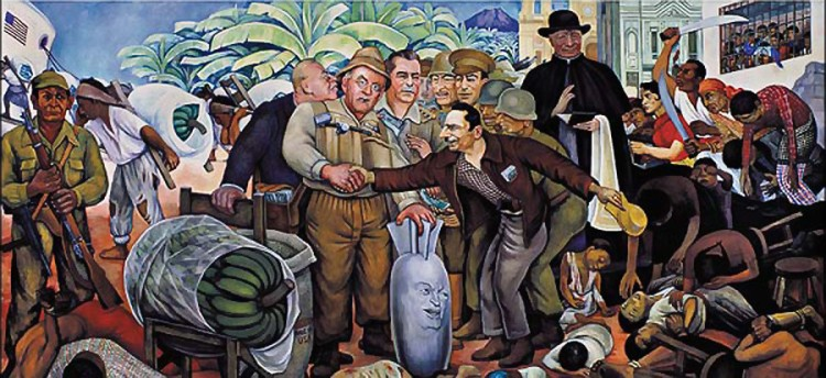 Glorious Victory mural by Diego Rivera