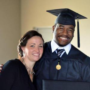 One of her first kids graduates from college
