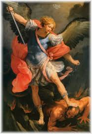 St Michael and the Devil by Guido Reni