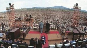Preaching to over one million in South Korea
