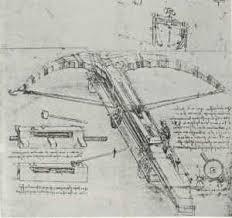 Leonardo' sketch book