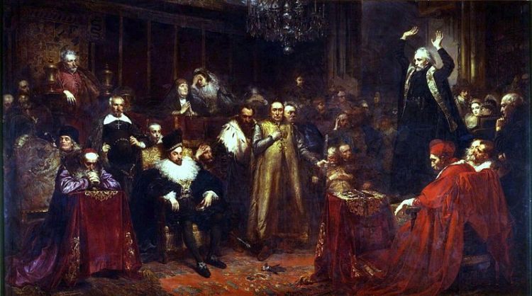 Skarga's Sermon by Jan  Matejko
