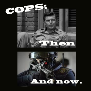 Officer, how you have changed.
