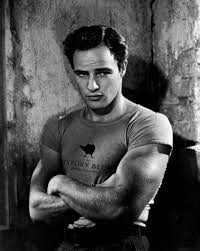 Brando with that Brando look