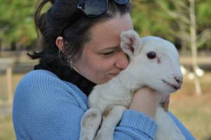 My daughter Mary, who has a little lamb