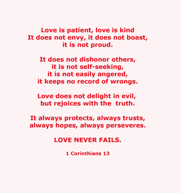 1 Corinthians 13-written by Paul